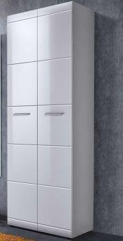 Garderobe Allan 59cm met 2 deuren - wit