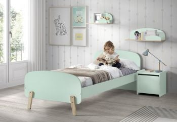 Kiddy bed 90x200 - mintgroen