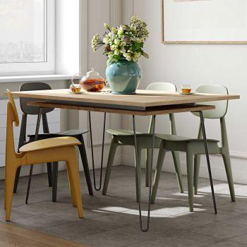Uitschuifbare tafel Jiro 134/174 - eik