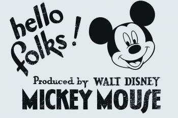 Canvas Mickey Mouse