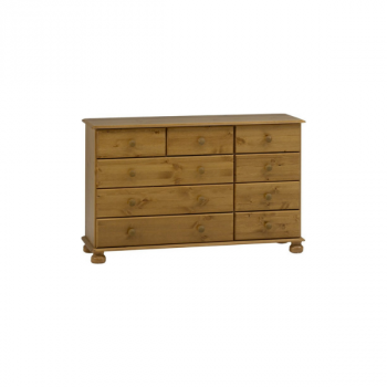 Commode Ramund 9 lades - bruin