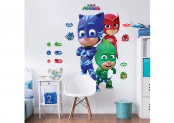 XL muursticker PJ Masks