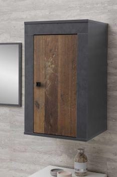 Hangkast Rutger - hout/grafiet