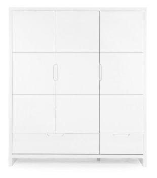 Kleerkast 3 deuren Quadro White