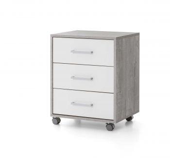Ladeblok Maxi-office - beton/wit