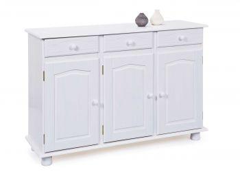 Dressoir Abaco (3 deuren) - wit