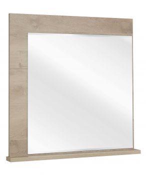 Spiegel voor commode Raltas - eik