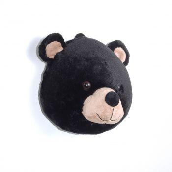 Pluche dierenkop beer
