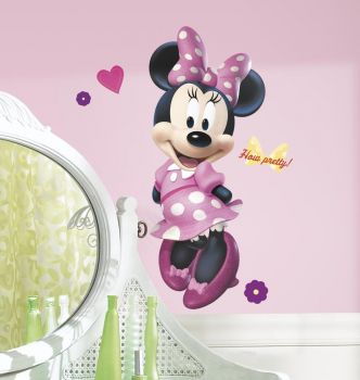 RoomMates muurstickers - Minnie Mouse maxi