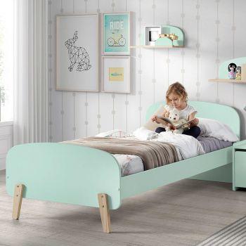 Kiddy bed 90x200 - mintgroen