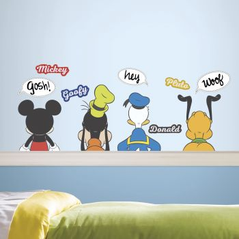 Muurstickers Mickey Mouse & Friends Dry Erase