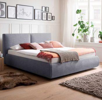 Bed met opbergruimte Celine 180x200 - blauw (incl. Rimini matras H2+H3)