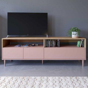 Tv-meubel Horizon 180cm - eik/roze