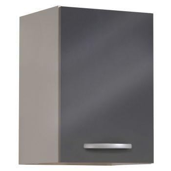 Bovenkast Spoon 40 cm - glossy grey
