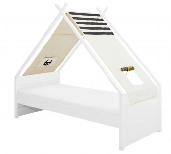 Tipi bed Cool Kids Superhero 90x200 cm