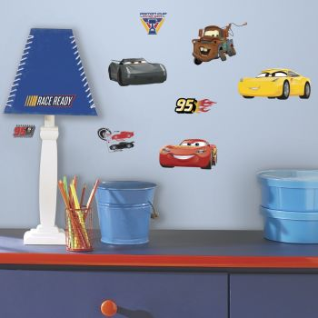 Muurstickers Cars 3