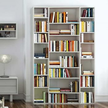 Boekenkast Varna model 2 - wit
