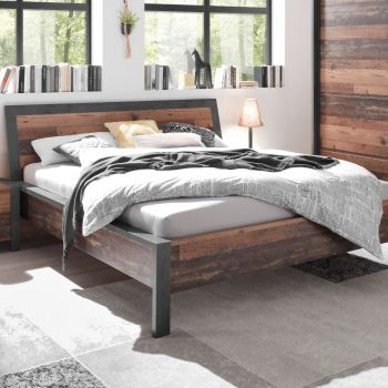 Bed Hamsik 180 x 200 - old style/beton