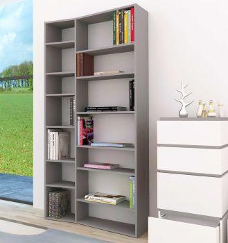 Boekenkast Varna model 1 - grijs