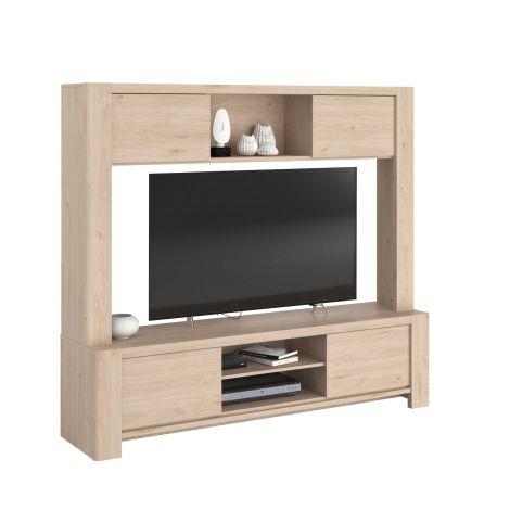 Tv-meubel Porto 180cm met 4 deuren- Jackson eik