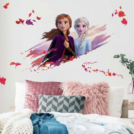 XL muursticker Frozen 2 Anna & Elsa