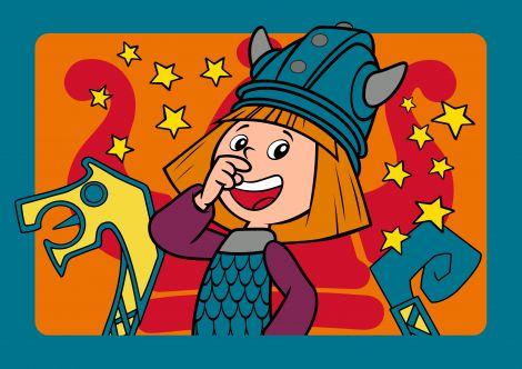 Tapijt Wickie de Viking I've got it