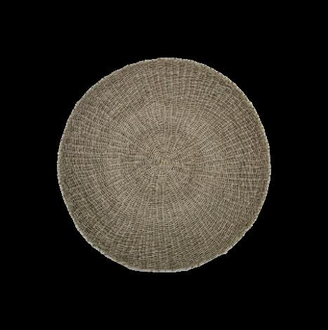 Vloerkleed Malibu ø120cm raffia/zeegras – naturel