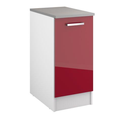 Onderkast Eli 40 cm met deur - rood