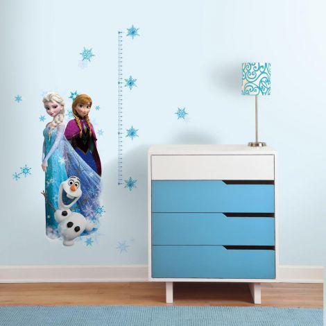 XL muurstickers Disney Frozen met groeimeter