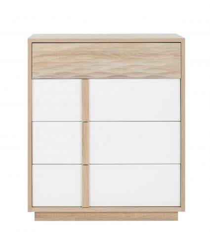 Commode Alto 4 lades - sonoma eik