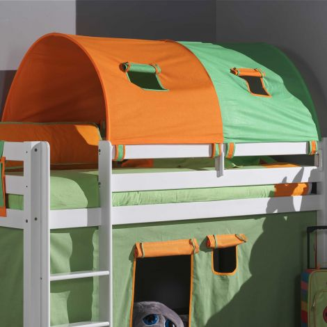 Tunnel groen/oranje - groot