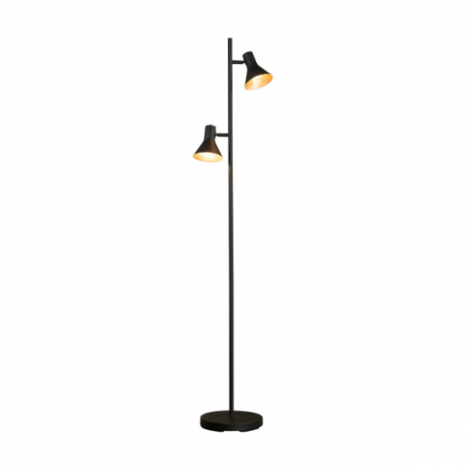 Vloerlamp Cas - zwart