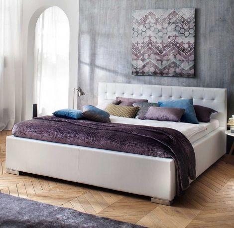 Bed Delphine 140x200 - wit