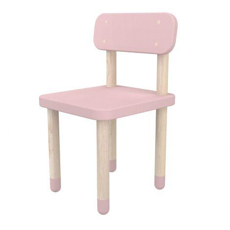 Kinderstoeltje met rugleuning Flexa Play - roze