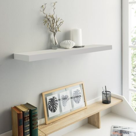 Wandplank Shelvy 60cm - hoogglans wit