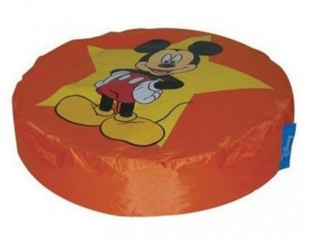 Zitzak Mickey Island - oranje