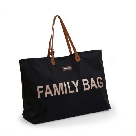 Verzorgingstas Family Bag - zwart/goud