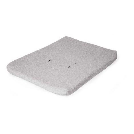 Waterproof aankleedkussenhoes voor verzorgingstafel en -unit Evolux - grijs