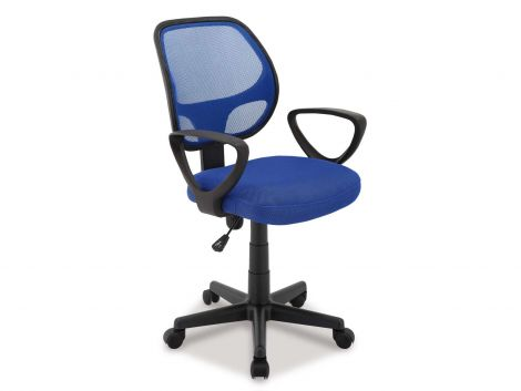 Bureaustoel Pipa - blauw