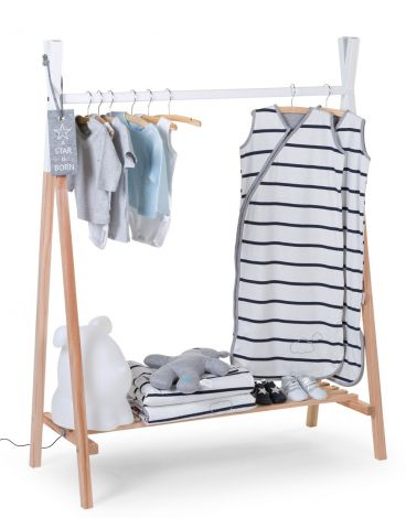 Tipi kledingrek voor kinderen