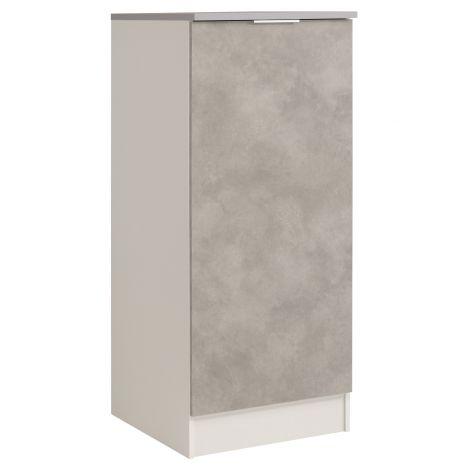 Keukenkast Spoon H140 cm met deur - beton