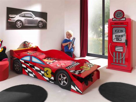 Peuterbed Auto Formule 1 - Racebed rood