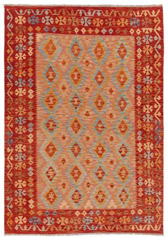 Vloerkleed Afghan Traditional B 300x80 – Rood