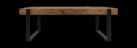 Salontafel Norton - 130x60 cm - reclaimed teak / ijzer
