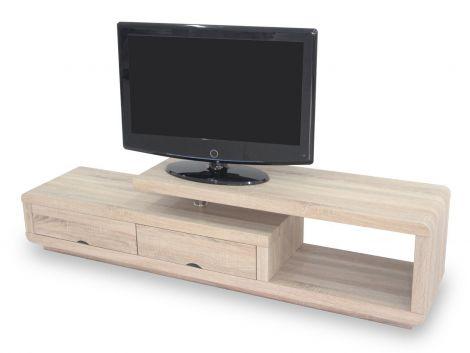 Tv-meubel Crystal 180cm - lichte sonoma