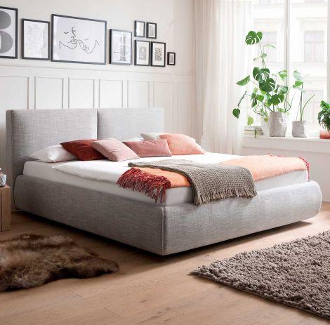 Bed Celine 180x200 - lichtgrijs