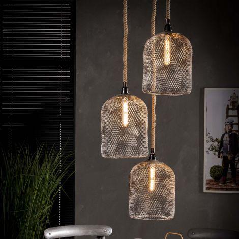 Hanglamp Vikus 3xØ25cm