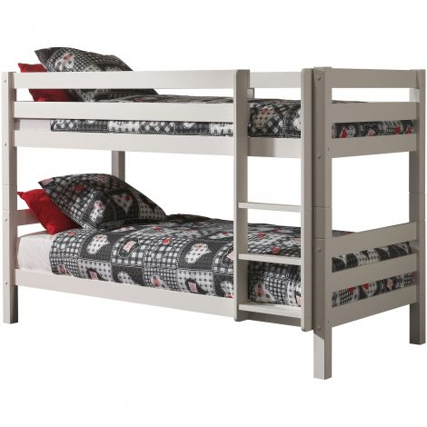 Wit Houten Stapelbed Claire laag - Vipack