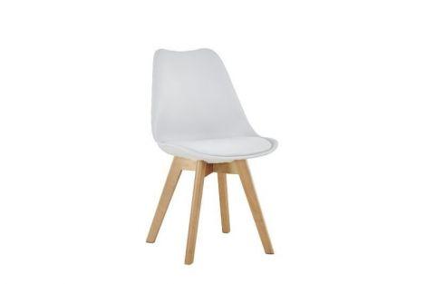 Set van 4 stoelen Malmo - wit