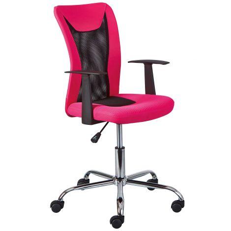 Bureaustoel Donny - roze